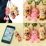 Confused Doll Phone Bag Pendant Plush Doll Keychain Pendant Keychain