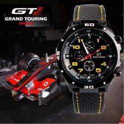 GT 54 GRAND TOUCHING Silicone Band Quartz Analog Sport Watch