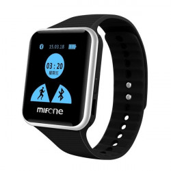MIFONE W15 2.5D Touch Screen TPSIV Anti-allergy Strap Smart Watch