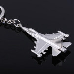 Metal 3D Fighter Plane Model Key Chain Warplane Keyring Gift Keychain