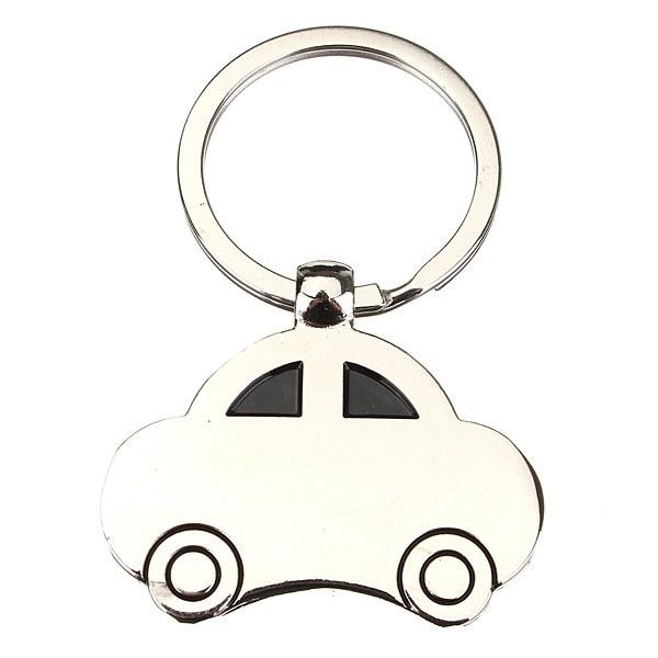Mini Classic Car Sedan Shape Keyring Zinc Alloy Vehicle Key Chain Keychain