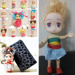 Multi Pattern Lovely Confused Doll Accessories Phone Ornament Keychain