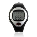 Pulse Calorie Monitor Heart Rate Waterproof Sport Men Quartz Watch Gym & Hiking Watch