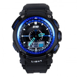 SKMEI 0910 Luminous Waterproof Analog Digital Quartz Sport Watch