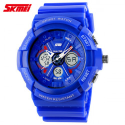 SKMEI 0966 Luminous Analog Digital Waterproof Quartz Sport Watch