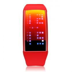 TVG LED Pedometer USB 8GB Sport Men Women Wrist Quartz Watch
