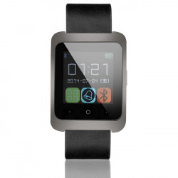 U8W Pedometer Bluetooth 4.0 Smart Phone Watch For Andriod IOS