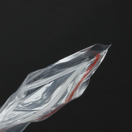100Pcs Reclosable Clear Earrings Jewelry Plastic Ziplock Bags 2021