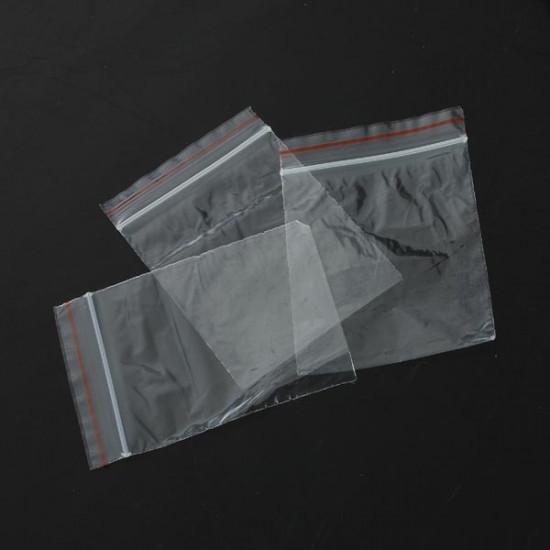 100Pcs Reclosable Clear Pendant Jewelry Plastic Ziplock Bags 2021