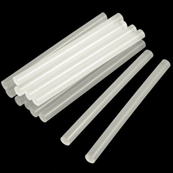 10pcs Translucence Hot Melt Glue Adhesive Sticks 7x100mm Jewelry Design & Repair