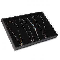 20 Grids Necklace Bracelet Jewelry Dispaly Storage Box Showcase Tray