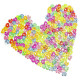 240pcs Colorful C Or S Clips For DIY Loom Rubber Band Bracelet 2021