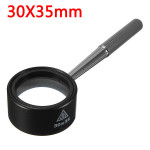 30X35mm Jewelry Optical Glass Handle Loupe Magnifier Watch Magnifying Jewelry Design & Repair
