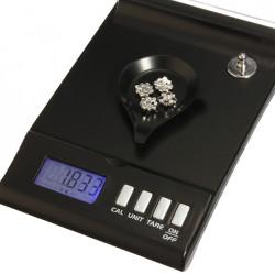 30g x 0.001g Digital High-precision Jewelry Pocket Scale 150 x 0.01ct