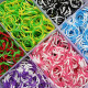 4800Pcs Colorful Rubber Loom Bands Bracelet DIY Making Kit Set 2021