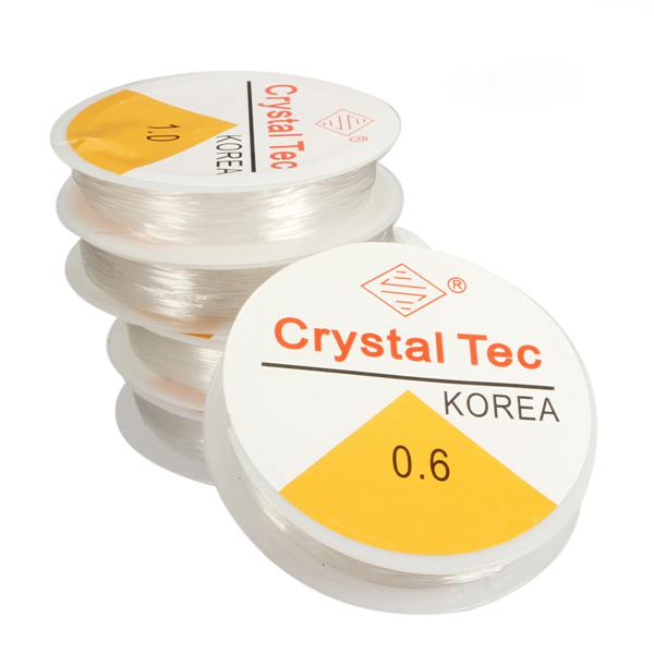 Clear Stretchy Elastic Rope String Cord Thread For Jewelry Making Jewelry Design & Repair