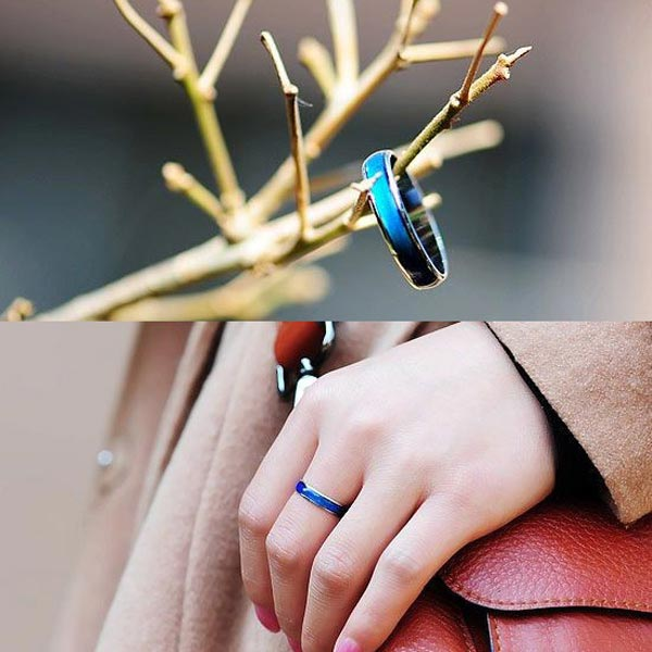 Color Changing Mood Ring Magic Temperature Finger Ring