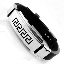 Men Adjustable Scorpion Bible Lucky Charm Great Wall Chain Bracelet