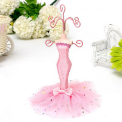 Mermaid Dress Mannequin Jewelry Earring Stand Display Holder