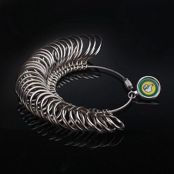 Metal Finger Ring Sizer Jewelry Measure Tool Gauge Tool Jewelry Design & Repair
