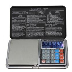 Multifunktionella Smycken Pocket Digitalvåg Grams