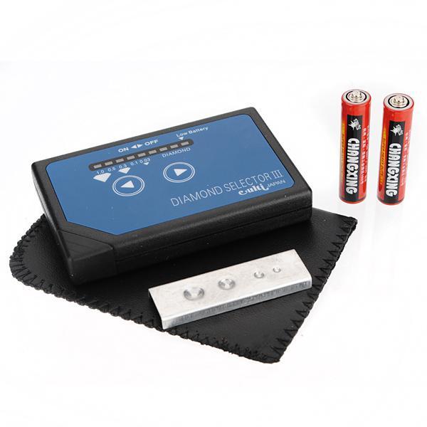 Portable Diamond Gemstone Selector Tester III LED Bag Platform Jewelry Design & Repair
