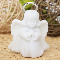 White Angel Model Jewelry Box Ring Necklace Pendant Display Case Gift