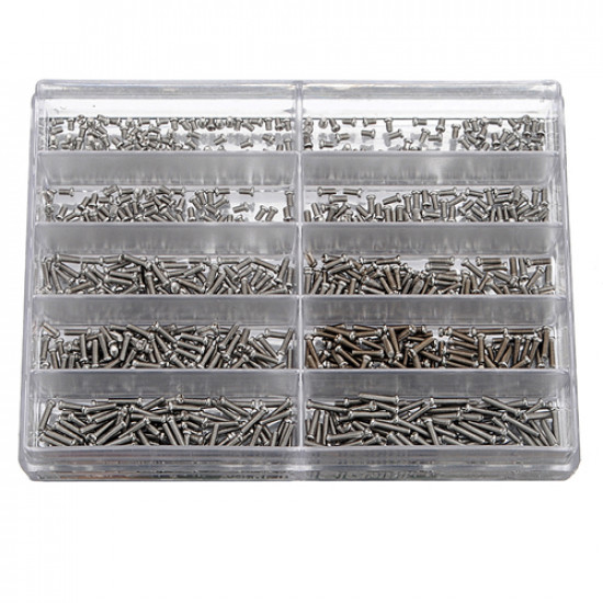 1000 Piece Clock watch scerw Stainless Steel Watch Tool 2021