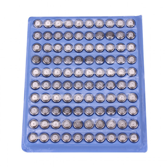 100PCS SR626 Cell Button Coin Battery Watch Toys Electronic Calculator 2021