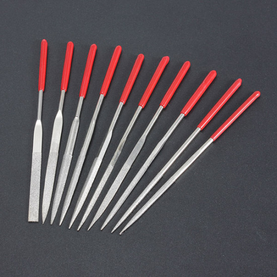 10pcs Handy Ceramic Glass Gem Stone Diamond Needle File Craft Tool 2021