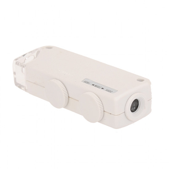 160x- 200x Zoom LED Mini Pocket Microscope Magnifier MG10081-1A 2021