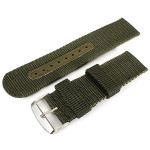 18mm 20mm 22mm 24mm Nylon Polyamides Canvas Black Mental Watch Band Watch Tools