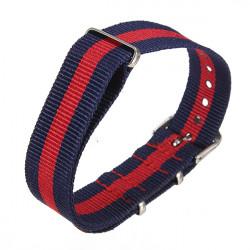 18mm Durable Military Nylon Wrist Watch Strap Band