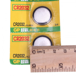 5PCS GP CR 2032 Cell Button Coin Battery Watch 3V Toys Calculator