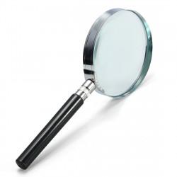 5X Handheld Hand Held Magnifying Glass Lens 75mm