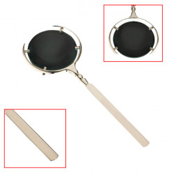 70mm 5X Reading Magnifying Glass Magnifier Loup Len