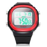 ALIKE A1281 Sport Black Rectangle Back Light Men Quartz Wrist Watch
