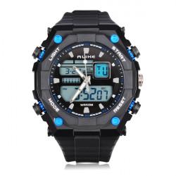 ALIKE AK1275 Sport LED Waterproof Multifunction Rubber Men Wrist Watch