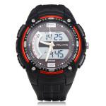 ALIKE AK1280 Sport LED Waterproof Multifunction Rubber Men Wrist Watch