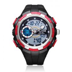 ALIKE AK1387 Sport Date Alarm Outdoor Men Rubber Wrist Watch