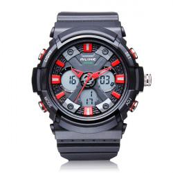ALIKE AK14108 Back Light Sport Big Dial Alarm Men Quartz Watch