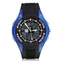 ALIKE E7111 Sport LED Waterproof Multifunction Men Quartz Wrist Watch