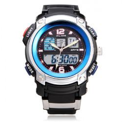 Alike AK1163 Sport Date Chronograph Alarm Black Men Wrist Watch