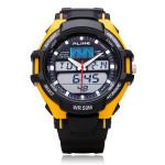 Alike AK1272 Sport Big Dial Date Back Light Black Men Wrist Watch Watch