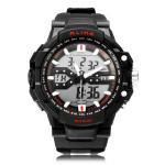 Alike AK1282 Sport Date Chronograph Back Light Black Men Wrist Watch