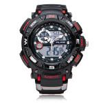 Alike AK1389 Sport Date Chronograph Back Light Black Men Wrist Watch