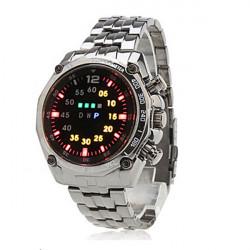 Alloy LED Digital Wrist Watch