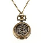 Antique Bronze Hollow Star Pattern Chain Pocket Watch Watch