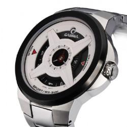 CASIMA 8208 Men Sport Waterproof Black White Quartz Watch