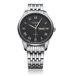 CURREN 8086 Black Stainless Steel Date Fashion Men Wrist Quartz Watch Watch